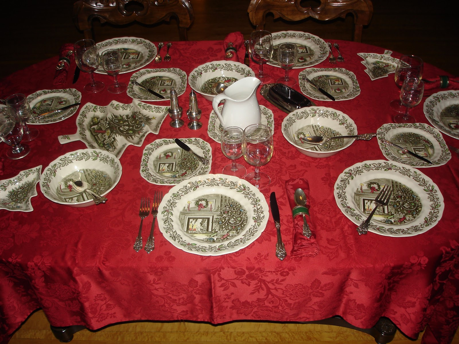 Preserving Food Traditions: Christmas Tablecloths