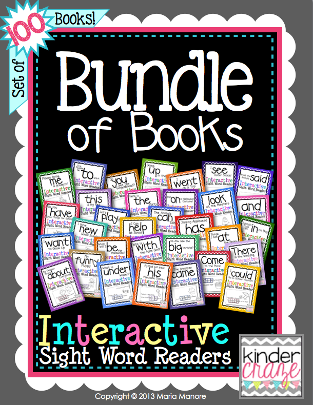 Best Selling Bundle of Books on TpT