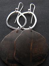 Aros plata y picoyo negro (181)