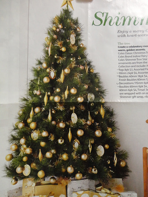 youll notice this display tree is 6 feet tall nicely rounded and fat with branches - Coles Christmas Decorations