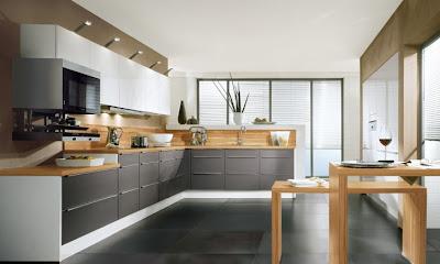 id es de conception de cuisine en forme de l d cor de maison d coration chambre. Black Bedroom Furniture Sets. Home Design Ideas