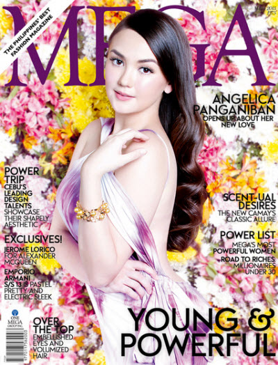 Angelica Panganiban Blooms on MEGA March 2013 Cover