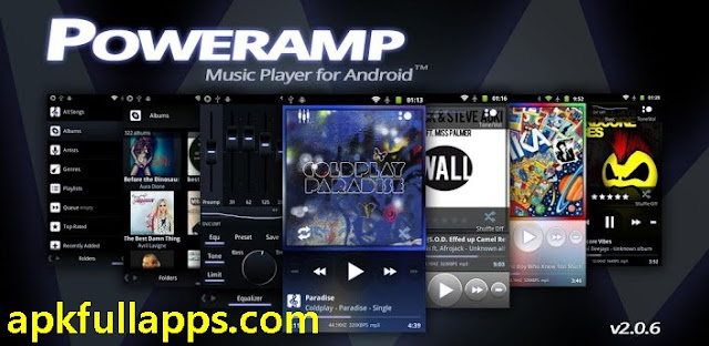 Poweramp Music Player FULL v2.0.8-build-523 + Widget Pack/Classic Skin