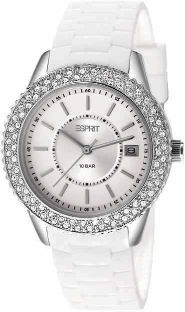 Esprit Timewear Marin Glints White: Price INR 7,295