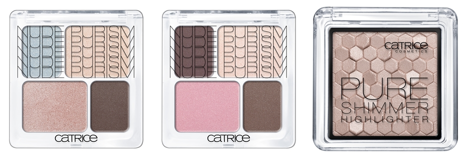 Catrice Nude Purism Quattro Eyeshadow Highlighter