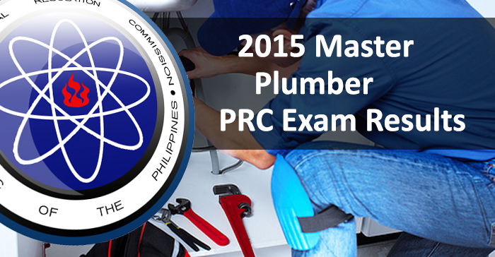 Top 4 Placers in July 2015 Master Plumbers Board Examination Result