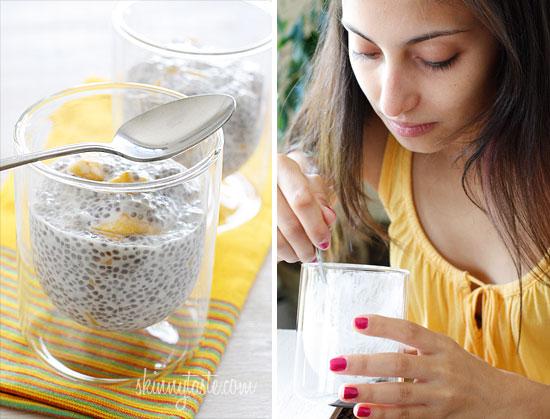 how to make chia seeds expand