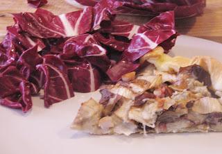 torta salata radicchio e gorgonzola