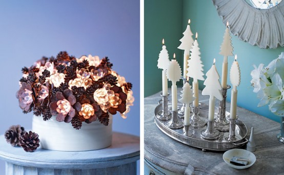 Creative Christmas table decorating picture 6