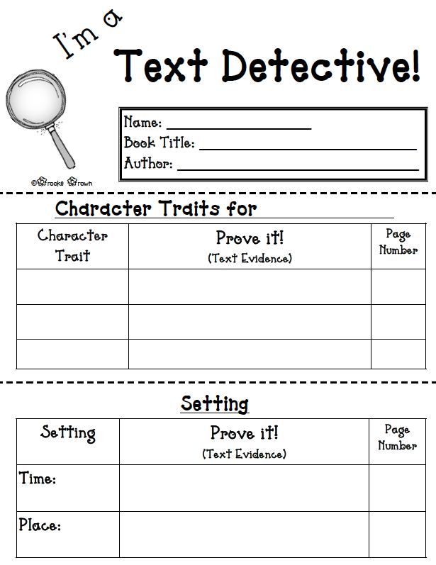 Character Lessons Tes Teach – Identifying Character Traits Worksheet
