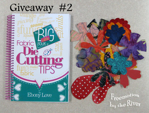 Fabric Die Cutting Tips Giveaway
