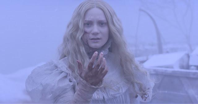 A Colina Escarlate | Veja o trailer internacional e pôsteres de personagens do terror gótico de Guillhermo del Toro