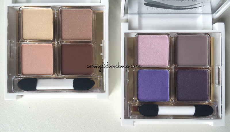 beautiful color eye shadow quad elizabeth arden palette
