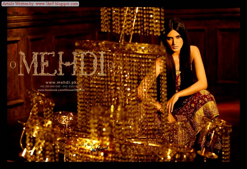 Latest Bridal Wear by Pakistani Designer Mehdi