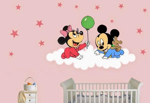 Pegatinas infantiles pegatinas baby disney encargo de patty - Habitaciones infantiles disney ...