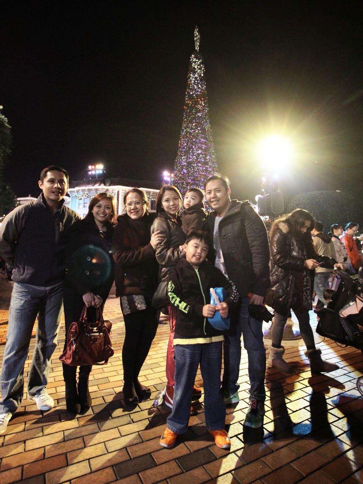 Disneyland, Hong Kong, Travel, tourist, Christmas 2013