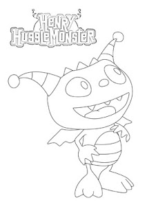 Henry The Coloring Pages Hugglemonster