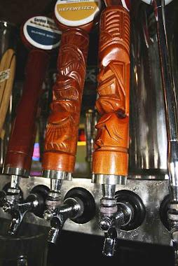Tiki bar pulls