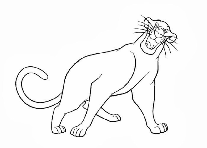 The Jungle Book coloring pages  Coloring pages for kids