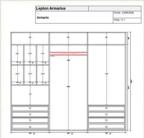Up redes soluciones inform ticas programa de dise o de for Diseno armarios 3d