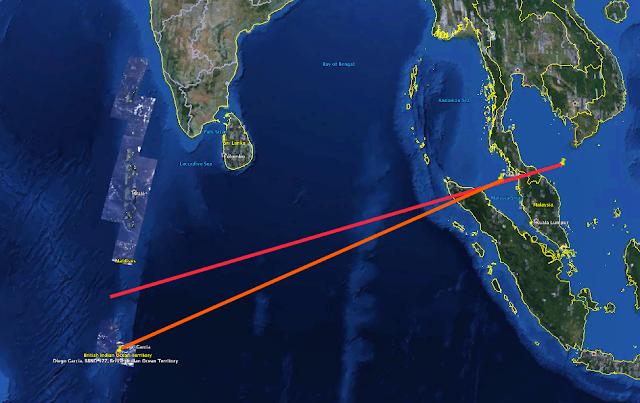 Jika MH370 Berakhir Di Lautan Hindi, Radar Di Deigo Gracia Pasti Boleh Kesan