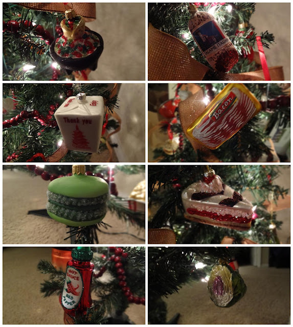 domesticated diva's new christmas project- foodie christmas tree