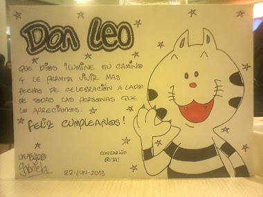 Feliz Cumple Don Leo