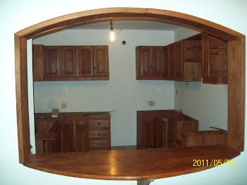 fotos muebles cocina algarrobo - Amoblamientos de Cocina Edgar Monlezun