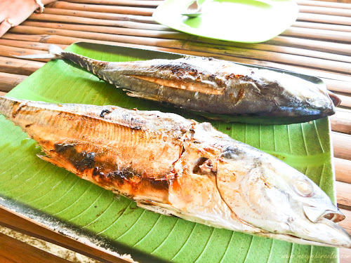 Grilled Fish in Coron, Palawan