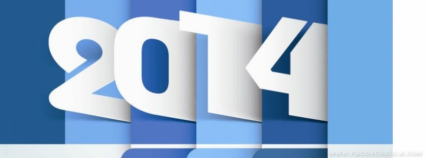 Happy New Year Inscription 2014 005 Facebook Timeline Cover