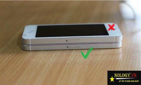 Phân biệt iphone 5 chuẩn và hàng nhái