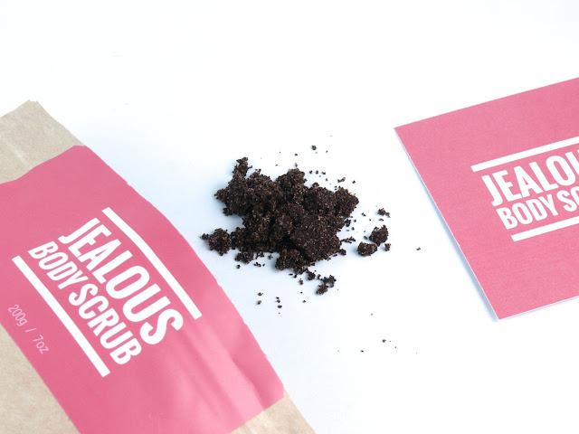 Jealous Body Scrub New Almond + Coffee Scrub: Review