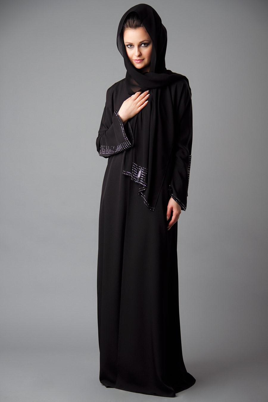 Designer Embroidered Abaya Collection 2013-2014 | New Abaya Collection ...