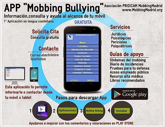 Información, consulta y ayuda sobre el mobbing o bullying en tu móvil