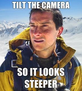 bear grylls tilt the camera