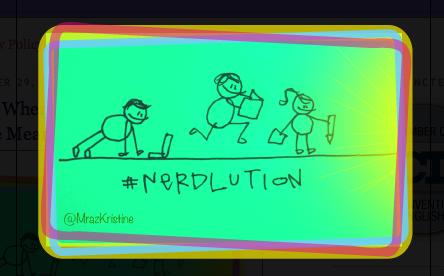 #nerdlution