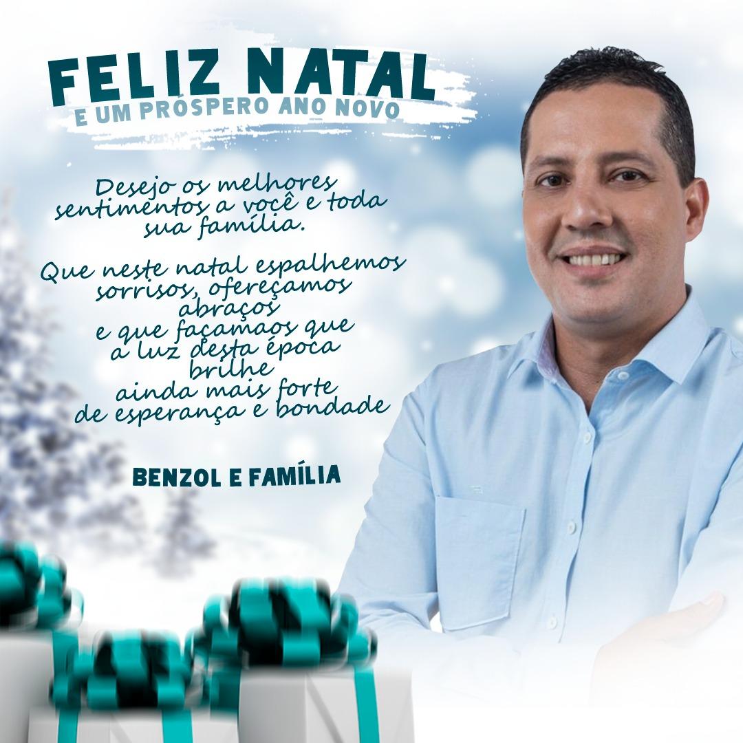 Feliz Natal do amigo Benzol
