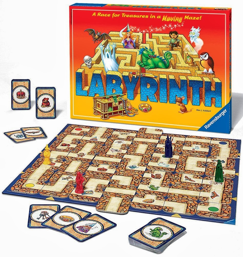 how to build a labyrinth game
