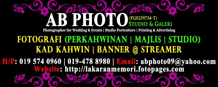 LAKARANMEMORI (AB Photo Studio & Galeri | AB Design & Printing)