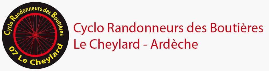 Cyclo Randonneurs des Boutières 07160 Le Cheylard