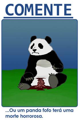panda morrendo