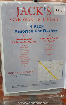 Have your car feeling like brand new with a wash from Jack's Car Wash