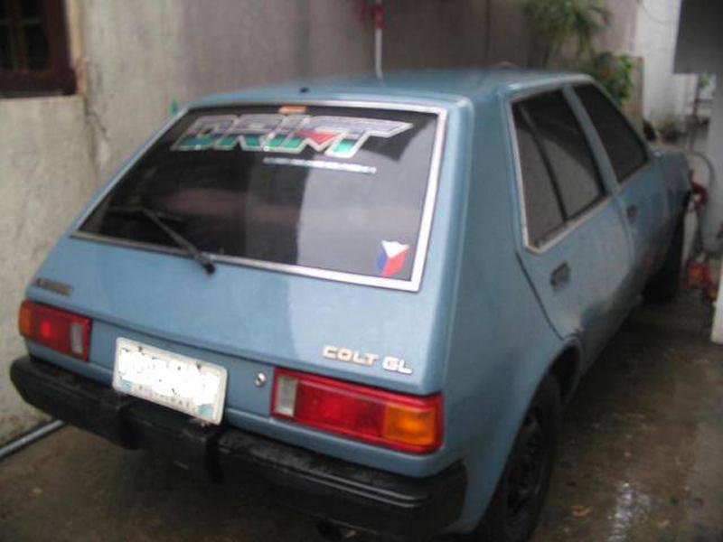 Automotive database mitsubishi mirage 1992 mitsubishi colt gl rear view fandeluxe Images
