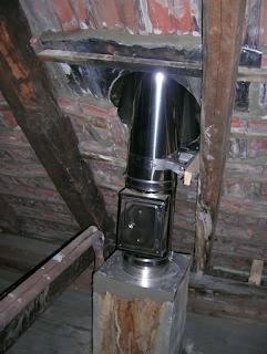 Neuer Schornstein im alten