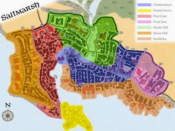 Saltmarsh District Map