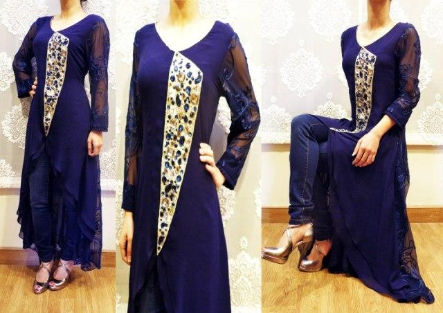 Noor Sahar Latest party wear collection 2013 for women