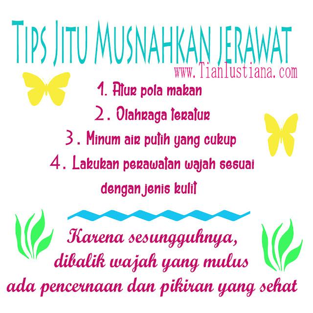 Tips Jitu Musnahkan Jerawat