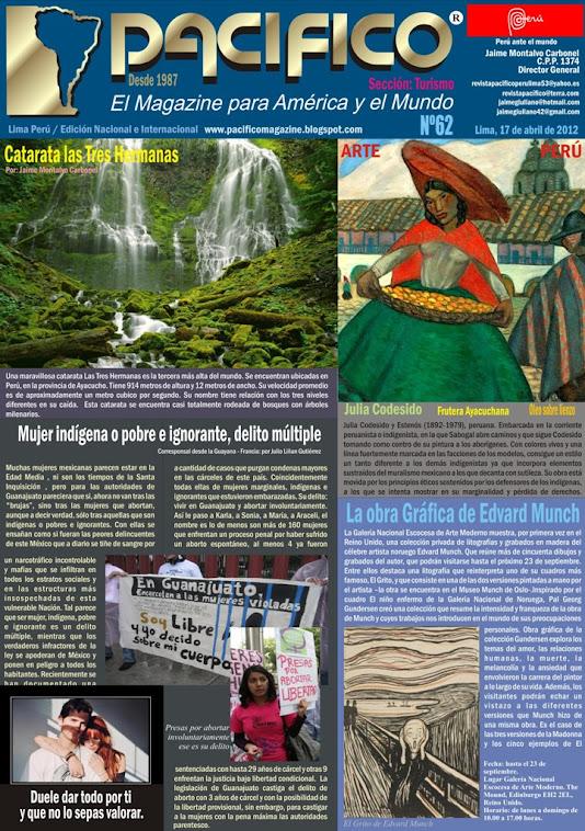 Revista Pacífico Nº 62 Turismo