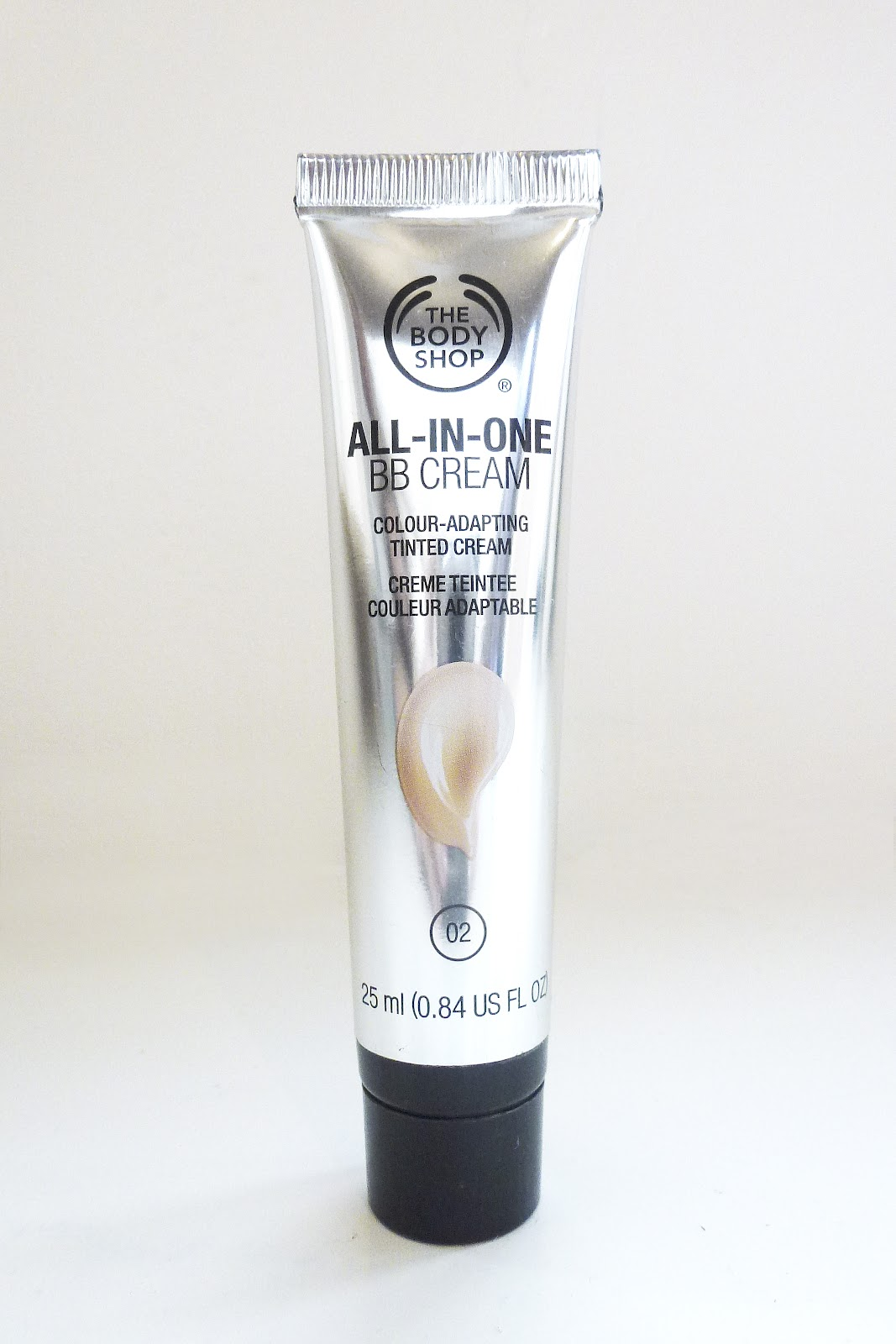 The body shop all in one bb cream style infinity for Bb shopping it