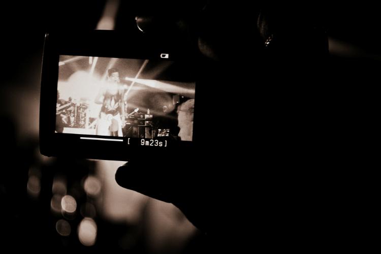 camera stage star rihanna  777tour